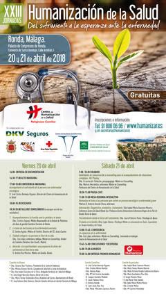 XXIII Jornadas de Humanización de la Salud ¡APÚNTATE!