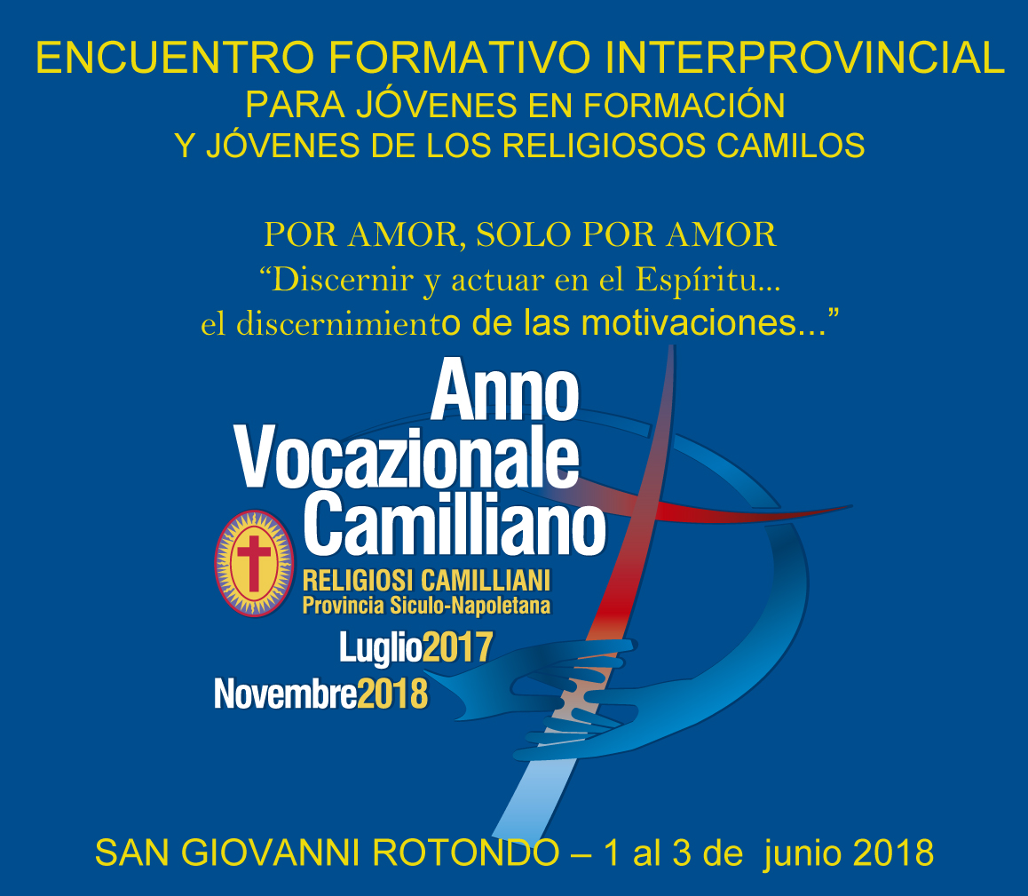 Encuentro formativo interprovincial de los Religiosos Camilos