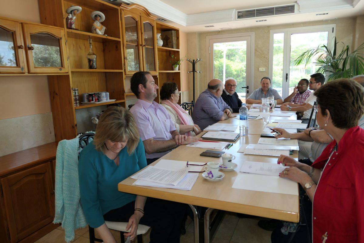 Reunión del Consejo de la FCL de España