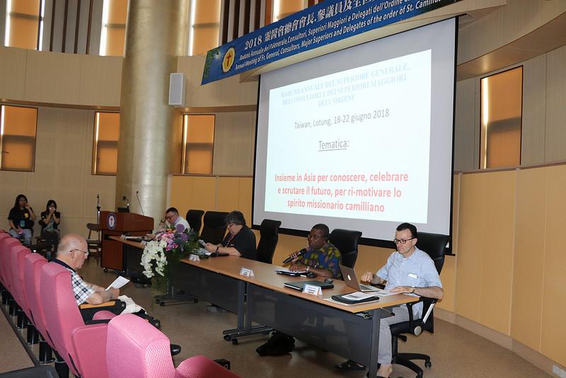 Síntesis del primer día del Encuentro de Superiores Mayores en Taiwán