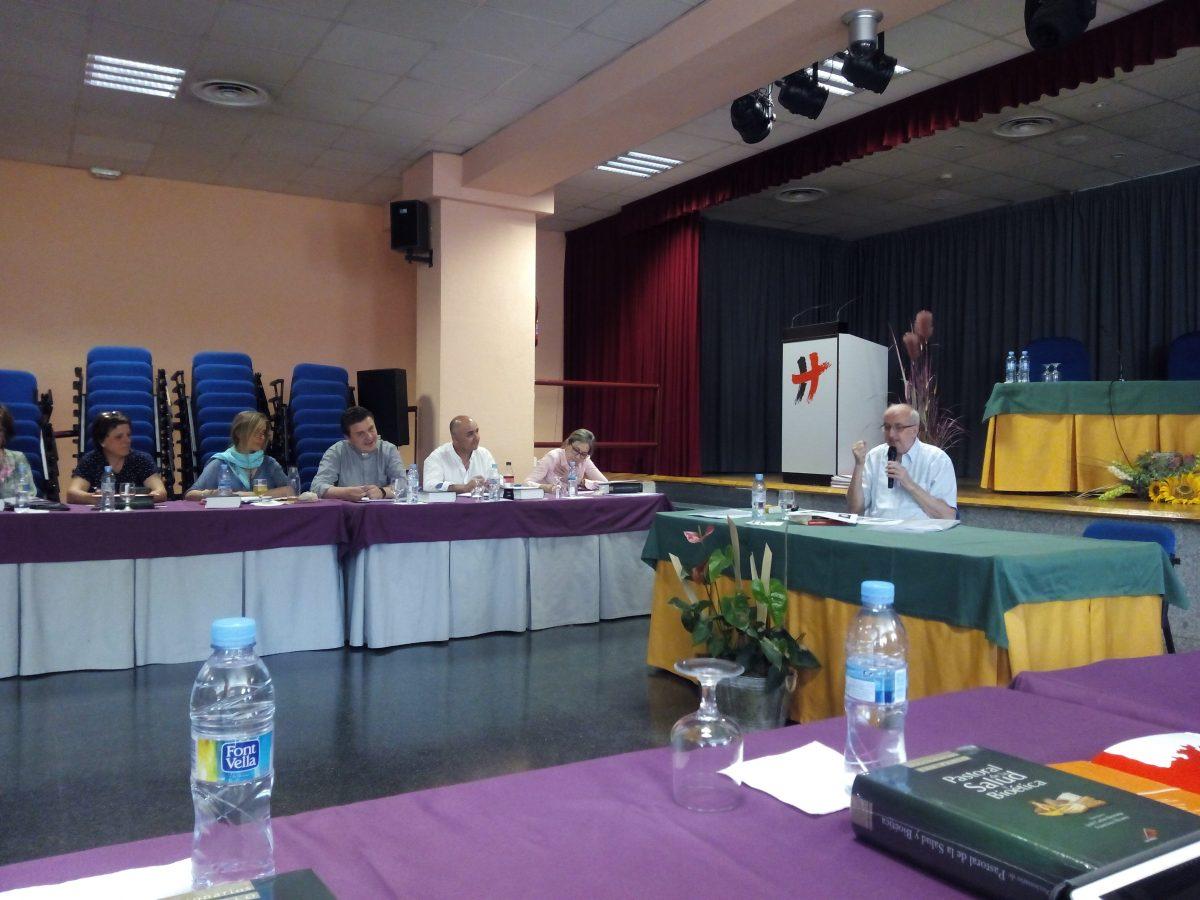 Comienzo del curso intensivo de Pastoral de la Salud