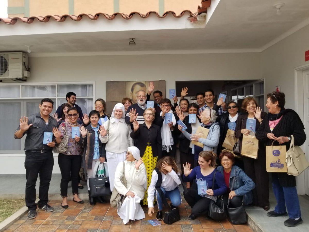 P. Mateo Bautista de visita en santa Cruz de la Sierra (Bolivia)