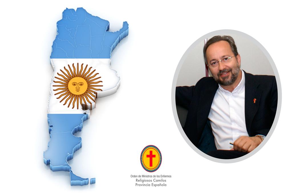 Comienza la visita Pastoral del Delegado General a la Delegación de Argentina.